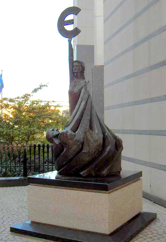 статуя современной Европы