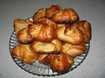 наши пирожки с капустой и грибами готовы