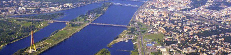 Даугава, Московский мост