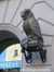 сова - символ мудрости над входом в Центральный книжный магазин