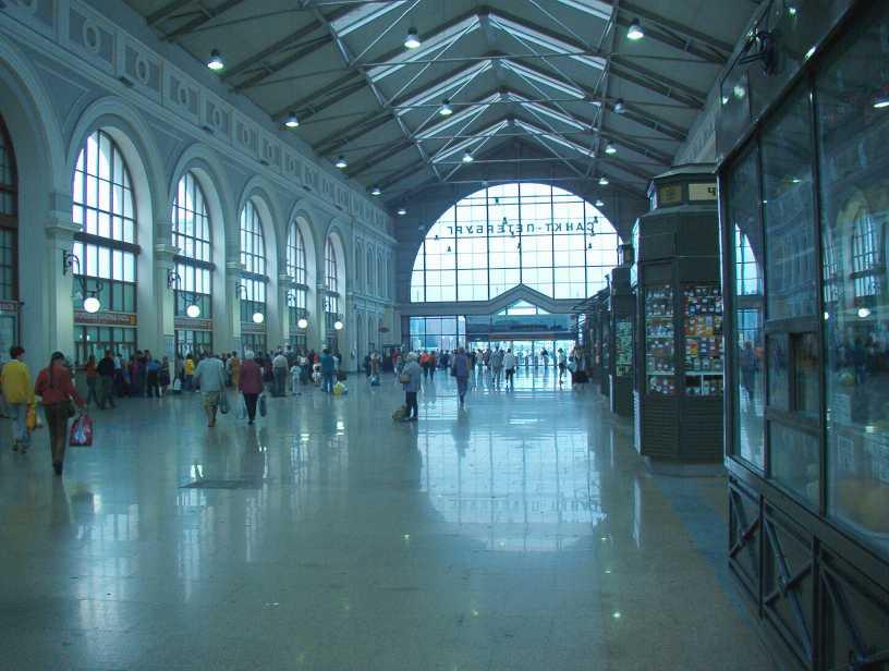 интерьер Балтийского вокзала
