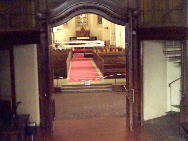 Домский собор изнутри