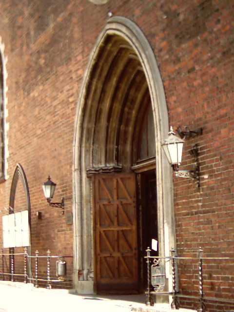 вход в Домский собор