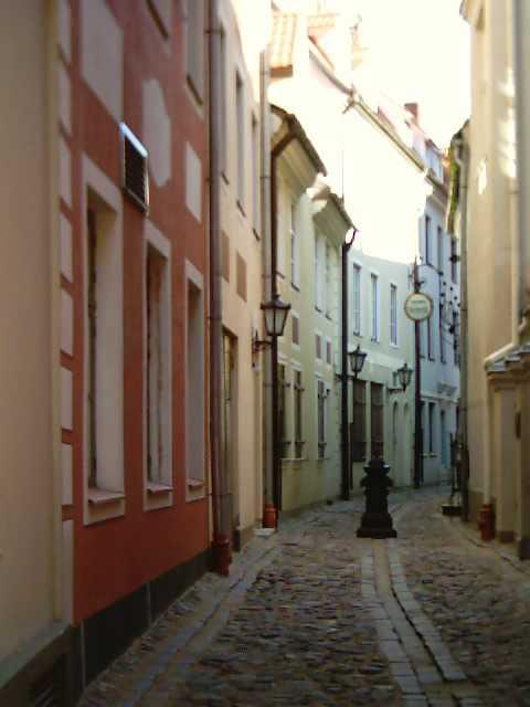 улочка в Старой Риге