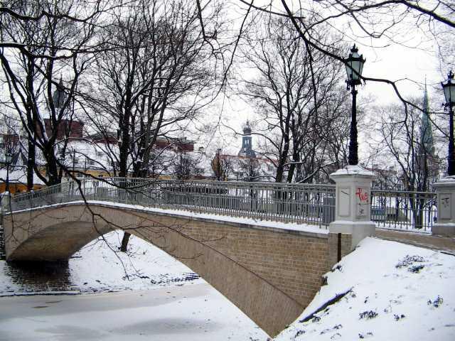 мостик у Эспланады